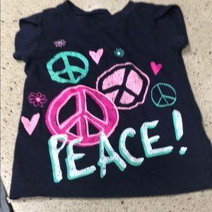 """Other - Little girls """"peace"""" T-shirt"""